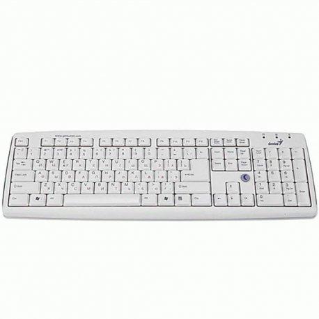 Клавиатура Genius KB-06XE White RU