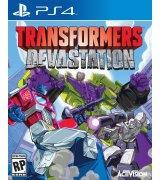 Игра Transformers: Devastation для Sony PS 4 (английская версия)