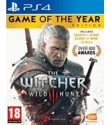 Игра The Witcher 3 (Ведьмак 3): Wild Hunt - Game of the Year для Sony PS 4 (английская версия)