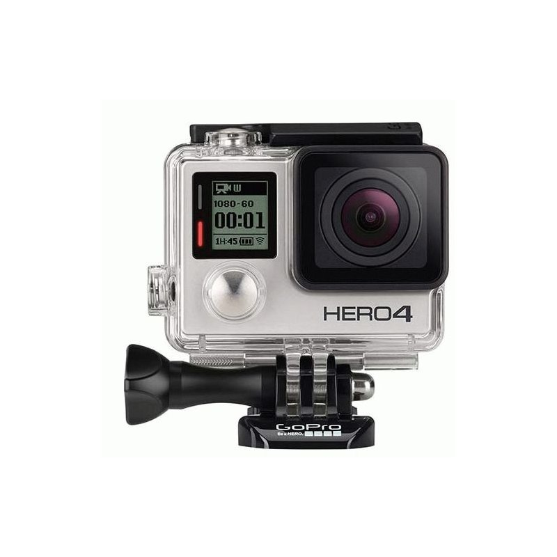 Видеокамера GoPro HERO4 Silver Standard Edition (CHDHY-401)