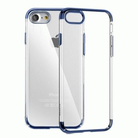 Накладка Baseus Shield Case для iPhone 7 Blue (WIAPIPH7-DW)