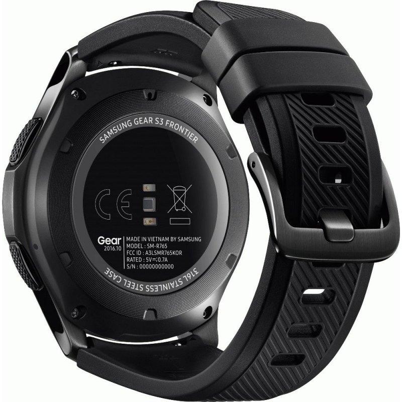 Умные часы Samsung Gear S3 Frontier (SM-R760NDAASEK)