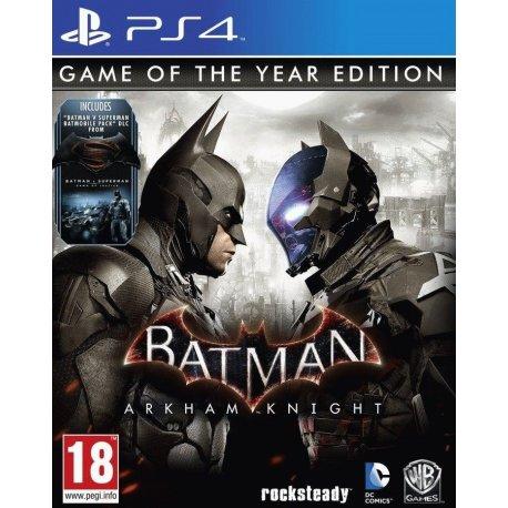 Игра Batman: Arkham Knight. Game of the Year Edition для Sony PS 4 (русские субтитры)