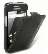 Кожаный чехол Melkco (JT) для Samsung S5830 Galaxy Ace Black