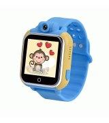 Детские телефон-часы с GPS iQwatch Q-1000 (Blue)