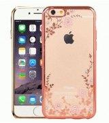 TPU накладка Pink Flowers для iPhone 6 | 6s