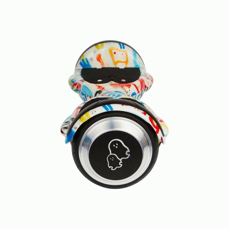 """Детский гироборд Just Step&Go Junior 4,5"""" Graffity + Сумка и комплект защиты (SGMLY-S5BDSGR)"""