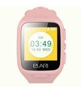 Детские телефон-часы с LBS-трекером Elari KidPhone Pink (KP-1PK)