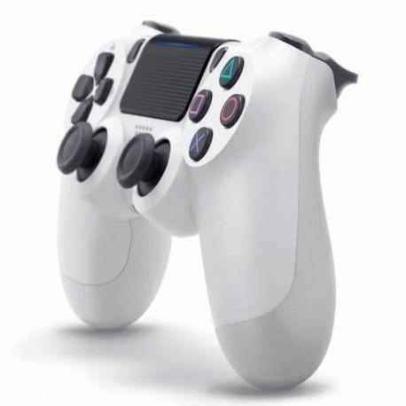 Беспроводной джойстик Dualshock 4 V2 Glacier White (PS4)