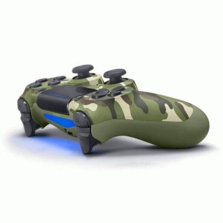 Беспроводной джойстик Dualshock 4 V2 Green Camouflage (PS4)