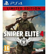 Игра Sniper Elite 4. Limited Edition для Sony PS 4 (русская версия)