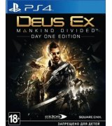 Игра Deus Ex: Mankind Divided. Day One Edition для Sony PS 4 (русская версия)