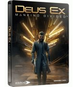 Игра Deus Ex: Mankind Divided. Day One Edition Steelbook для Sony PS 4 (русская версия)