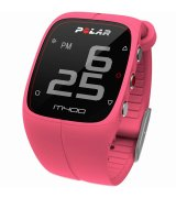 Спортивные часы Polar M400 HR Pink (90057194)