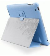 Чехол для Apple iPad 2 SGP Leather Case Stehen Series Tender Blue