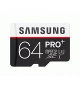 Карта памяти Samsung microSDXC 64GB PRO Plus Class 10 UHS-I U3 (MB-MD64DA/RU)