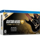 Игра Guitar Hero Live. Supreme Party Edition + 2 Гитары для Sony PS 4 (английская версия)