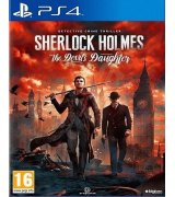 Игра Sherlock Holmes: The Devil's Daughter для Sony PS 4 (русская версия)
