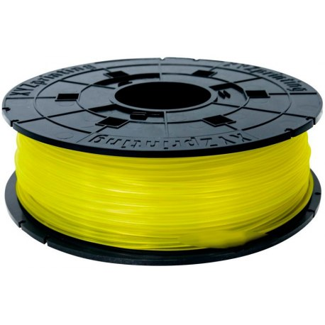 PLA-пластик XYZprinting для 3D-принтера 1.75 мм 600 г Yellow (RFPLAXEU00E)