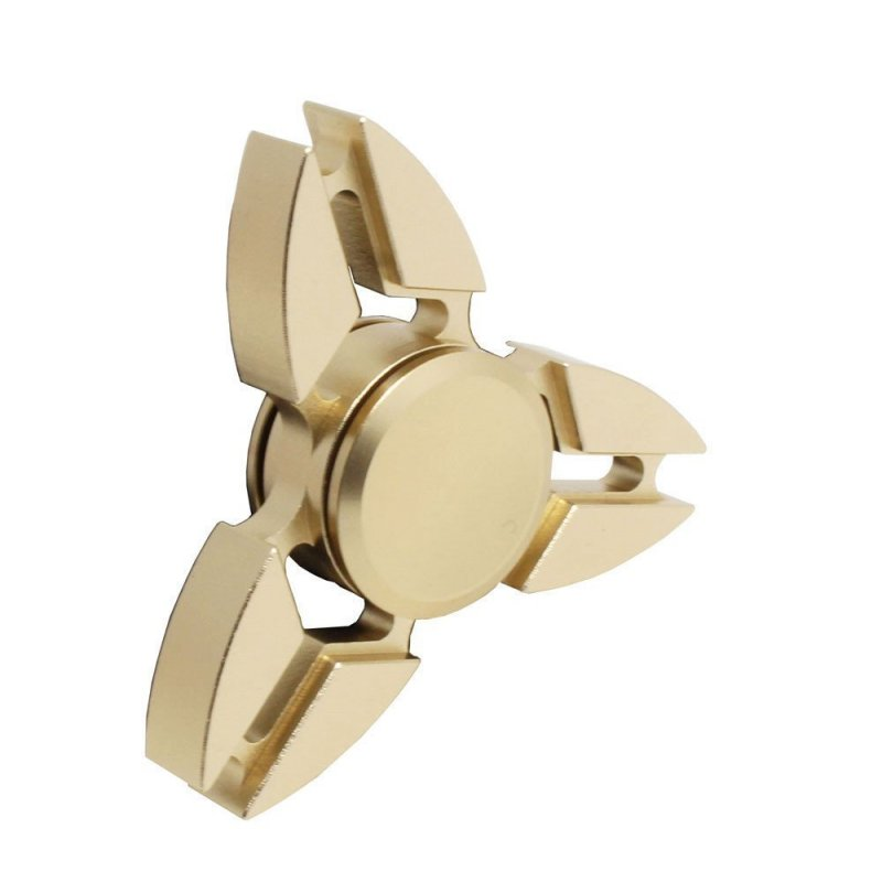 Fidget Spinner Blades Metall Gold