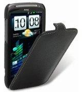 Кожаный чехол Melkco Flip (JT) для HTC Sensation Z710e/Z715e Black