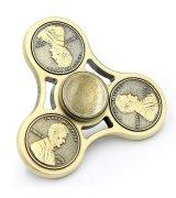 Fidget Spinner Cent Gold