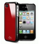 SGP iPhone 4 Case Linear Color Series Dante Red