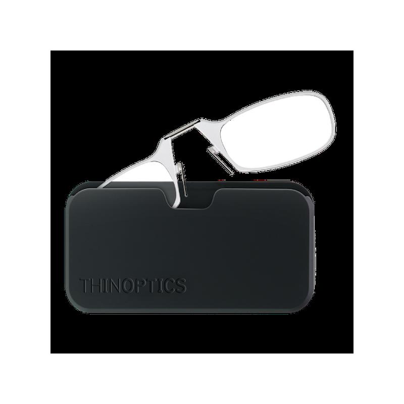 0a018309c398 Очки для чтения Thinoptics +2.00 Прозрачные + Чехол универсальный Черный  (2.0CBUP)