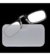 Очки для чтения Thinoptics +2.50 Черные + Чехол универсальный Прозрачный (2.5BWUP)