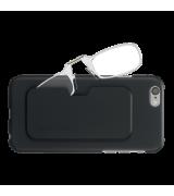 Очки Thinoptics +2.50 Прозрачные + Чехол iPhone 6/6S Plus черный (2.5CBI6P)
