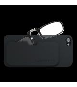 Очки для чтения Thinoptics +2.50 Черные + Чехол iPhone 5/5S Черный (2.5BBI5)