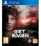 Игра Get Even для Sony PS 4 (русские субтитры)
