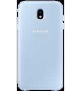 Чехол Duall Layer для Samsung Galaxy J7 (2017) J730 Blue (EF-PJ730CLEGRU)
