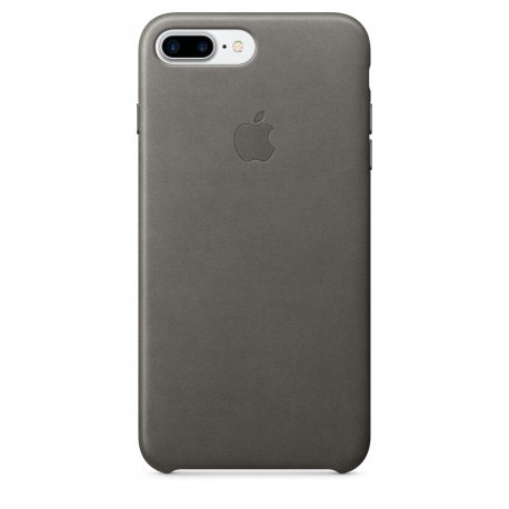 Чехол Apple iPhone 7 Plus Leather Case Storm Gray (MMYE2ZM/A)