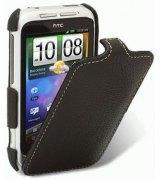Кожаный чехол Melkco Flip (JT) для HTC Wildfire S A510e Black