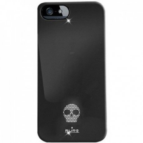 Puro Skull Cover накладка для Apple iPhone 5 Black