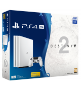Sony PlayStation 4 Pro Glacier White + Destiny 2