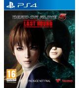 Игра Dead or Alive 5: Last Round для Sony PS 4 (английская версия)