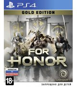 Игра For Honor: Gold Edition для Sony PS 4 (русская версия)