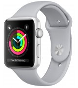 Apple Watch Series 3 42mm (GPS) Silver Aluminum Case with Fog Sport Band (MQL02)