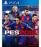 Игра Pro Evolution Soccer 2018 (PES 2018) для Sony PS 4 (русские субтитры)