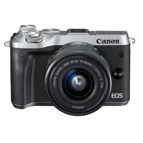 Canon EOS M6 15-45 IS STM Silver (1724C043)