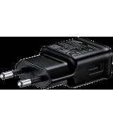 Сетевое зарядное устройство для Samsung 2A Type-C Fast Charging (EP-TA20EBECGRU) Black