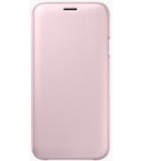 Чехол Flip Wallet для Samsung Galaxy J7 (2017) J730 Pink (EF-WJ730CPEGRU)