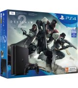 Sony PlayStation 4 Slim 1TB (CUH-2108B) + игра Destiny 2