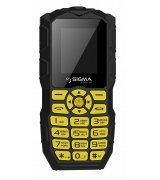 Sigma mobile X-treme IO68 Bobber Black-Yellow