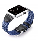 Ремешок Weave Buckle Band для Apple Watch 42mm Blue