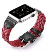 Ремешок Weave Buckle Band для Apple Watch 42mm Red