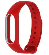 Ремешок для фитнес-трекера Xiaomi Mi Band 2 Red-White