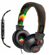 Marley Positive Vibration with 3-Button Mic Rasta (EM-JH013-RA)